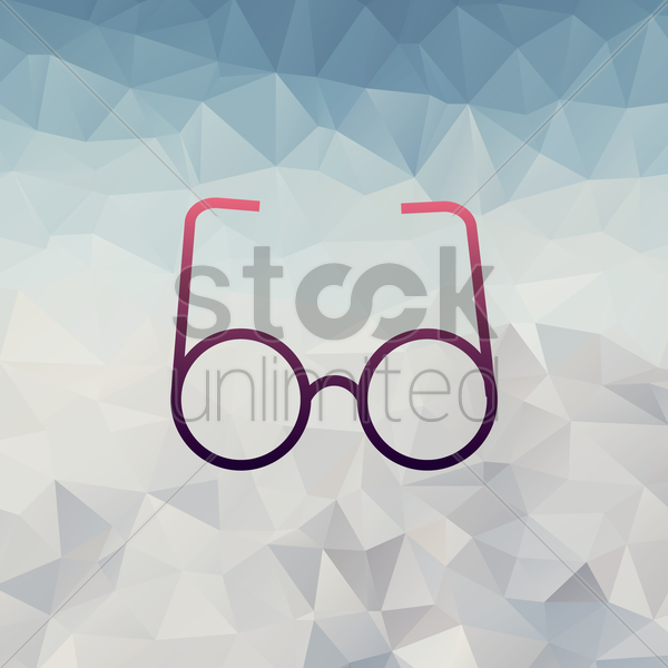 spectacles vector graphic