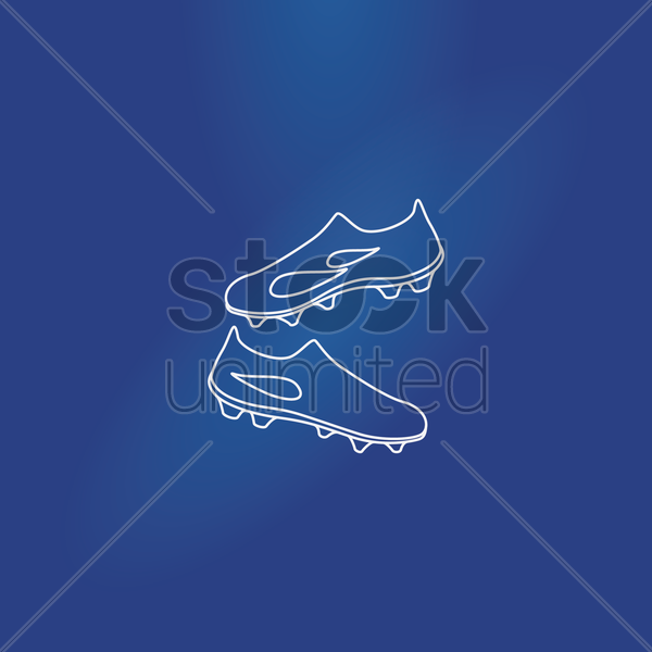 sport shoes vector graphic