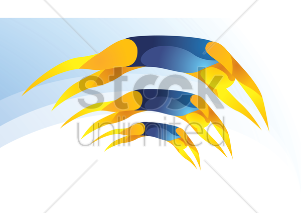 sports competition swimming vector graphic