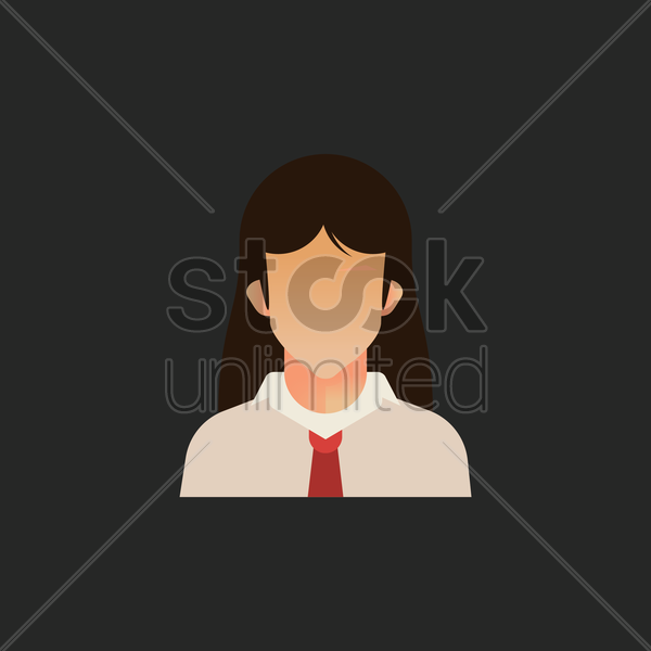 student vector graphic