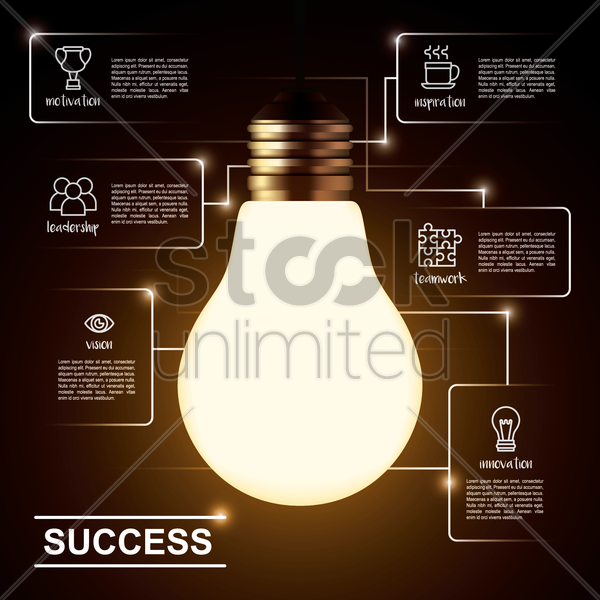 success vector graphic