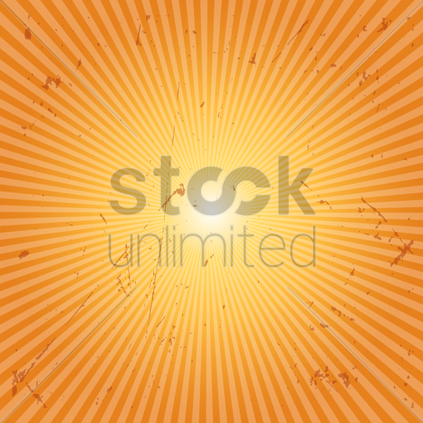 sunburst grunge background vector graphic