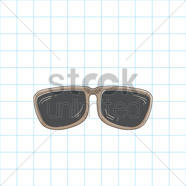 Free sunglasses vector graphic