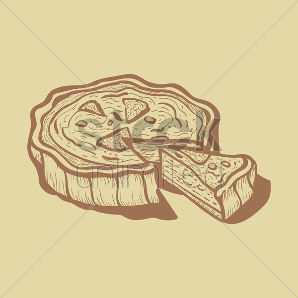 sweet food vector graphic