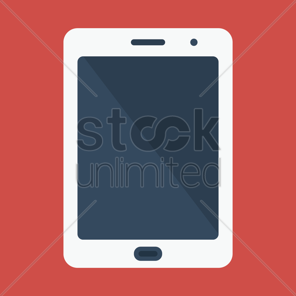tablet vector graphic