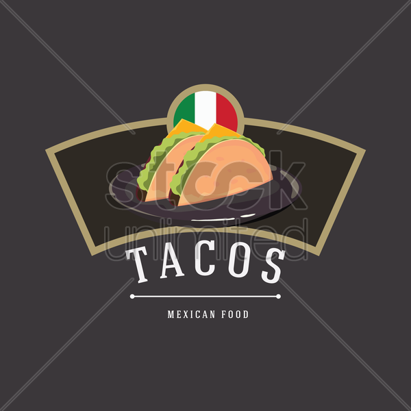tacos vector graphic
