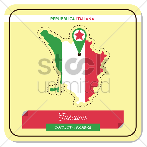 tascana map vector graphic