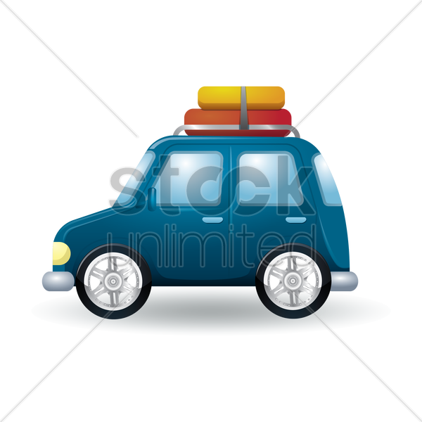 taxi vector graphic