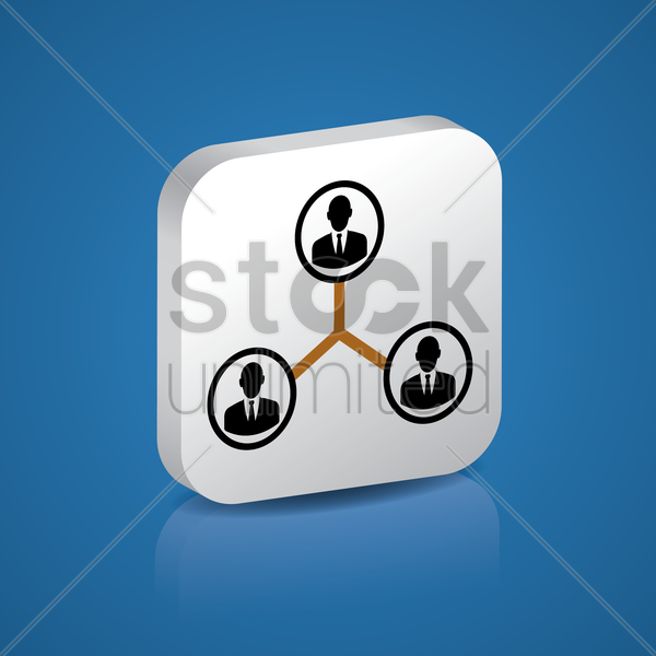 Free teamwork vector graphic