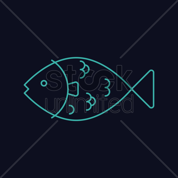 the sardines vector graphic