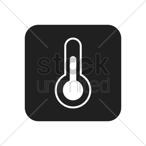 thermometer vector graphic