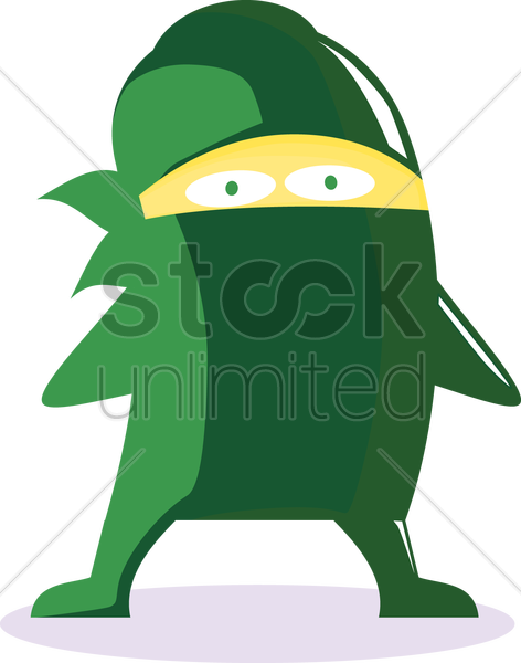 thief monster vector graphic