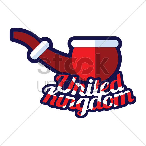 tobacco pipe vector graphic