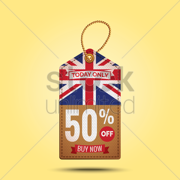 today only offer tag vector graphic