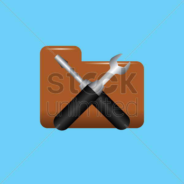 tools icon vector graphic