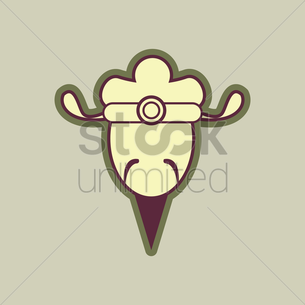 traditional chinese man vector graphic