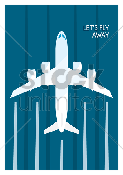 travel poster design vector graphic