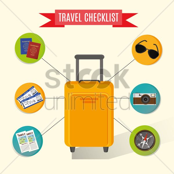 travelling infograph vector graphic