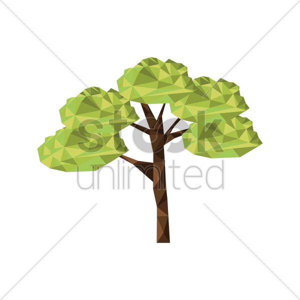 tree vector graphic