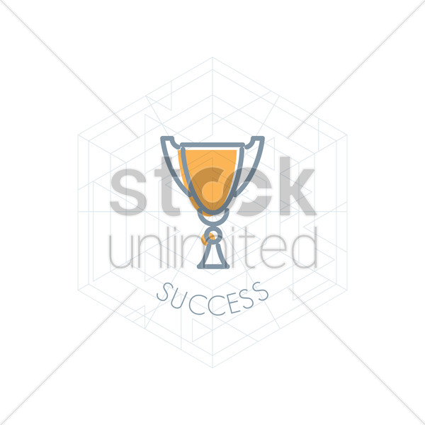 Free trophy vector graphic