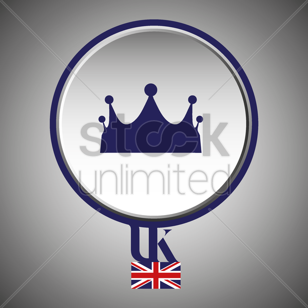 uk royal crown vector graphic