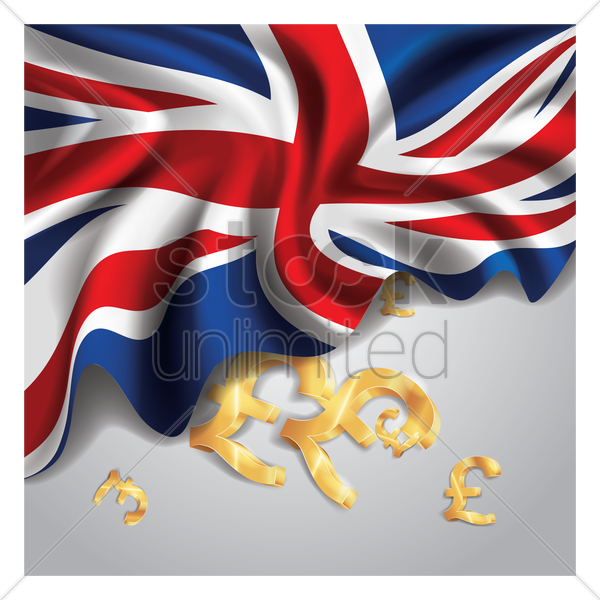 united kingdom flag wallpaper vector graphic
