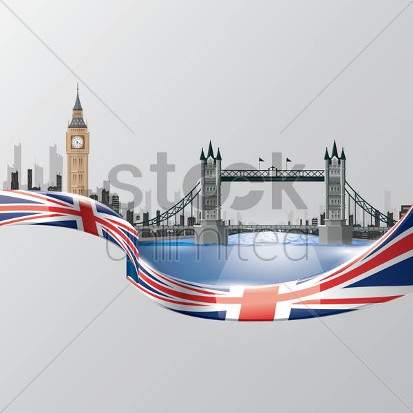 united kingdom wallpaper vector graphic