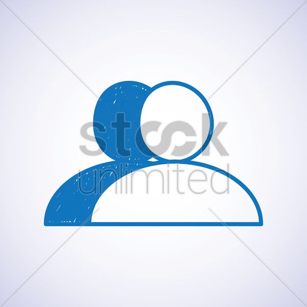 user icon vector graphic