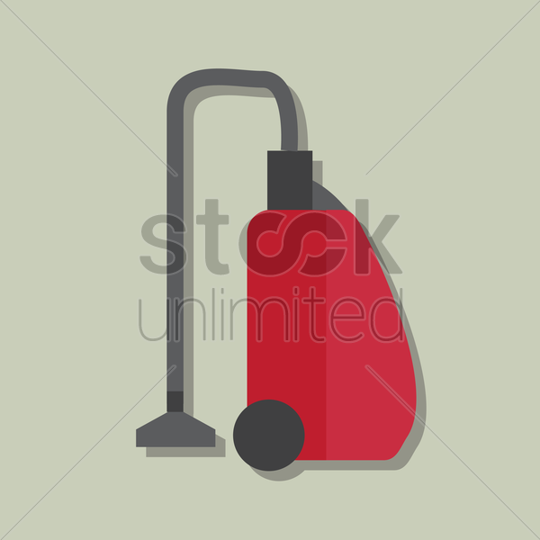 Free vacuum cleaner vector graphic