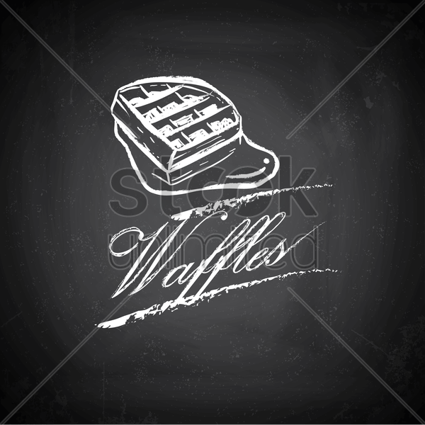 waffles vector graphic