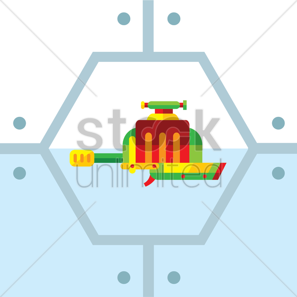water gun vector graphic