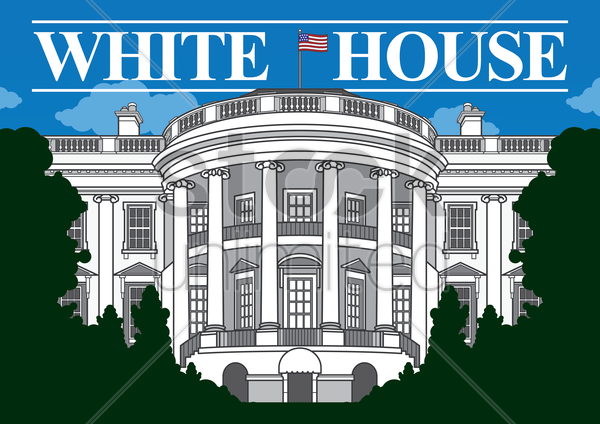 white house clip art pictures - photo #9