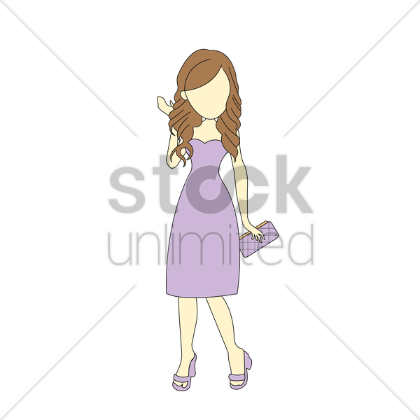 woman vector graphic