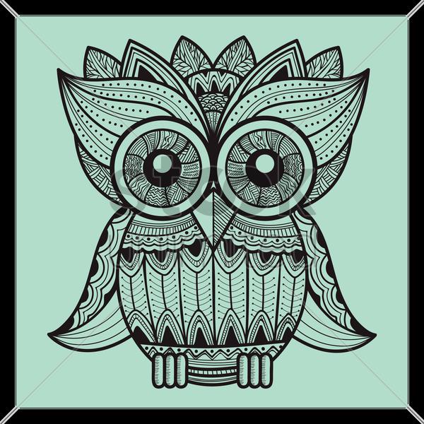 Zentangle Owl Designs