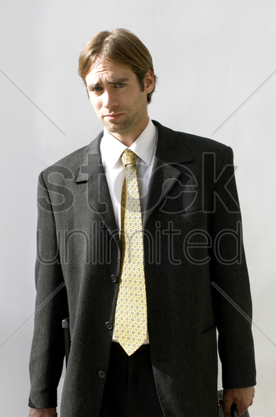 a man in business suit stock photo