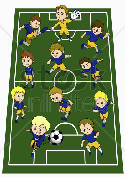bosnia and herzegovina team formation stock photo