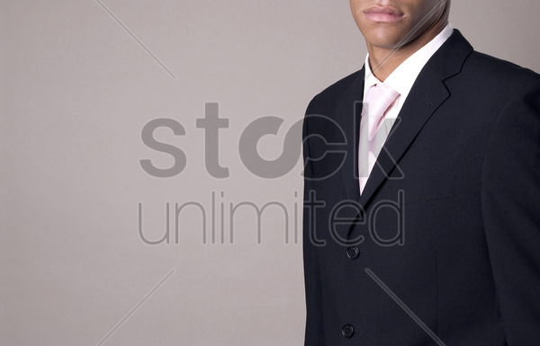 businessman in business suit stock photo
