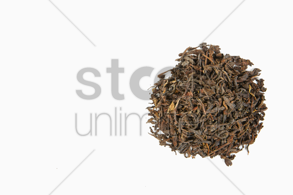 chinese tea pu erh stock photo