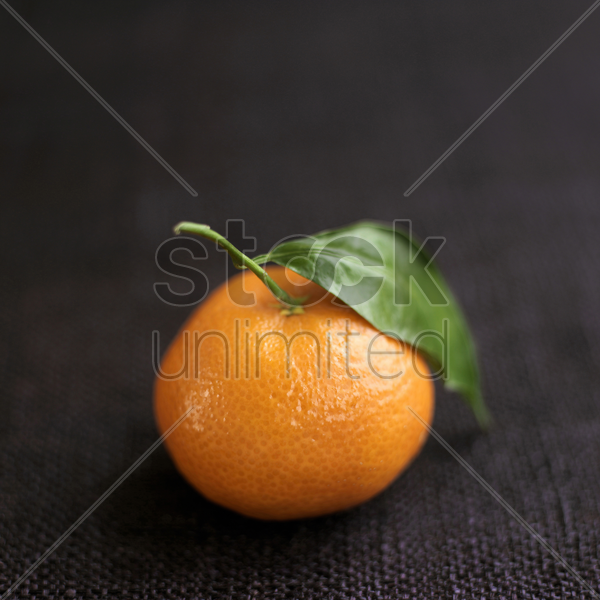 close up of clementine stock photo
