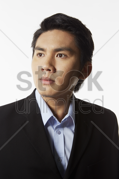 portrait of a businessman stock photo