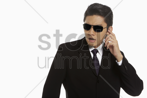 security staff at work stock photo