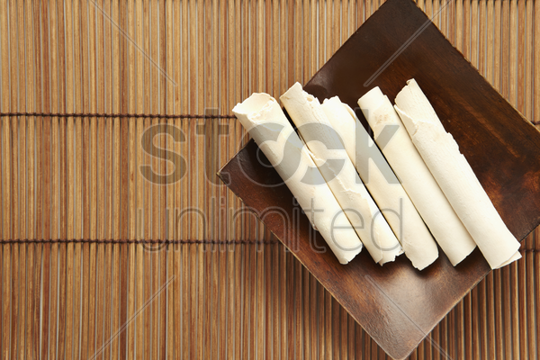 traditional chinese herb fu ling stock photo