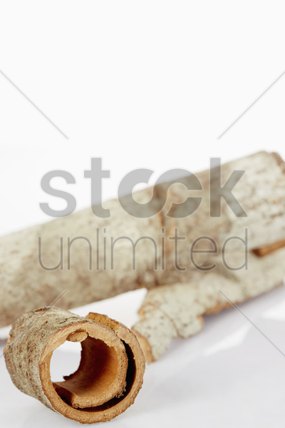 traditional chinese herb huo po stock photo