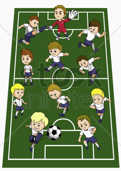 united states of america team formation stock photo