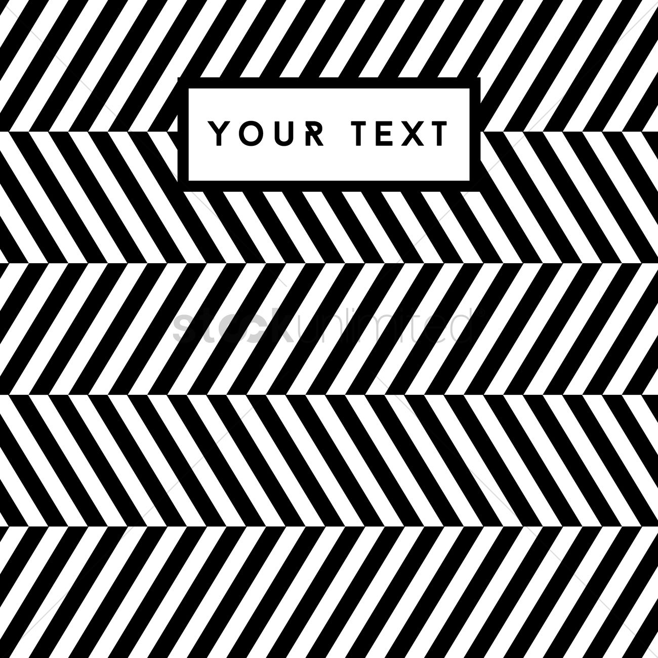 Free Abstract black and white striped background Vector ...