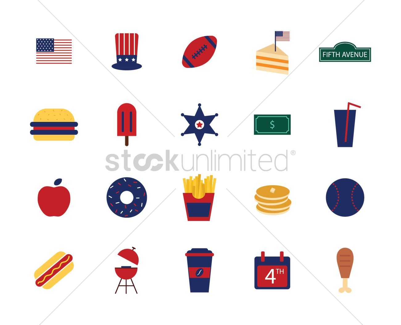 Cookout Icons stock vector art 165743714 | iStock
