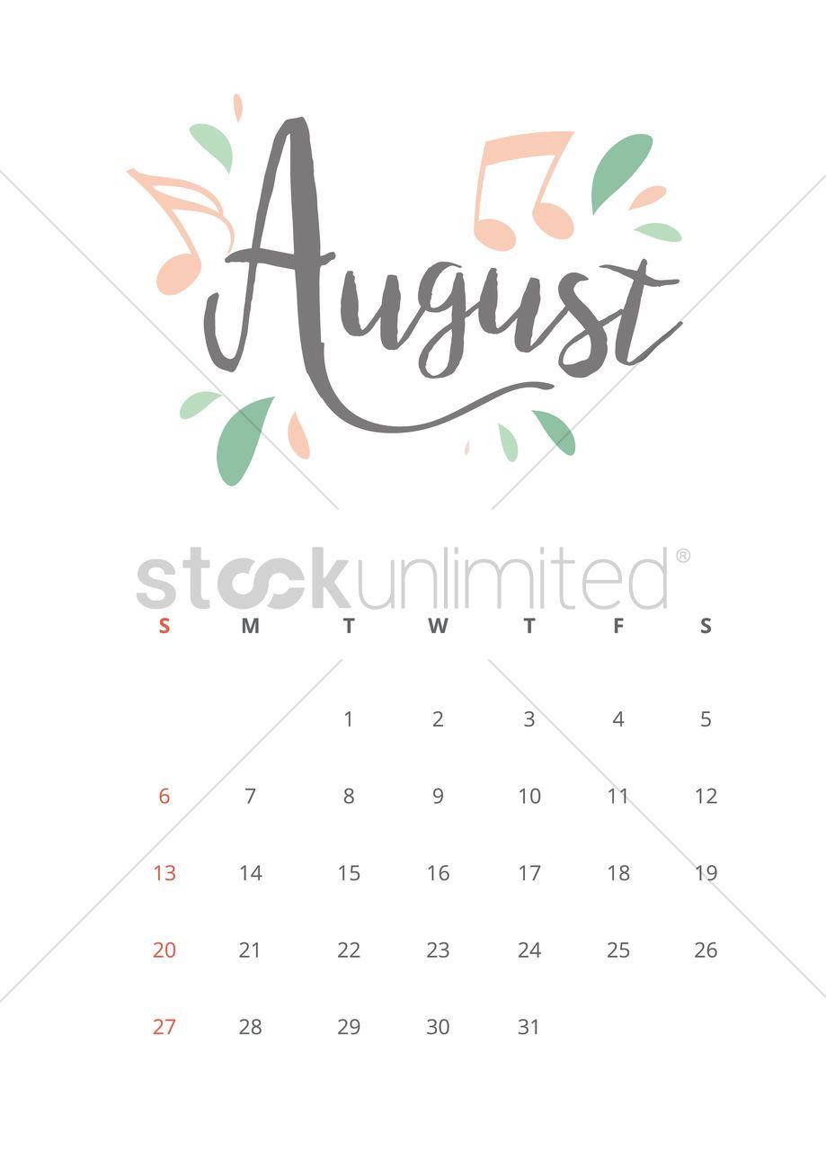 October 2017 Calendar Design