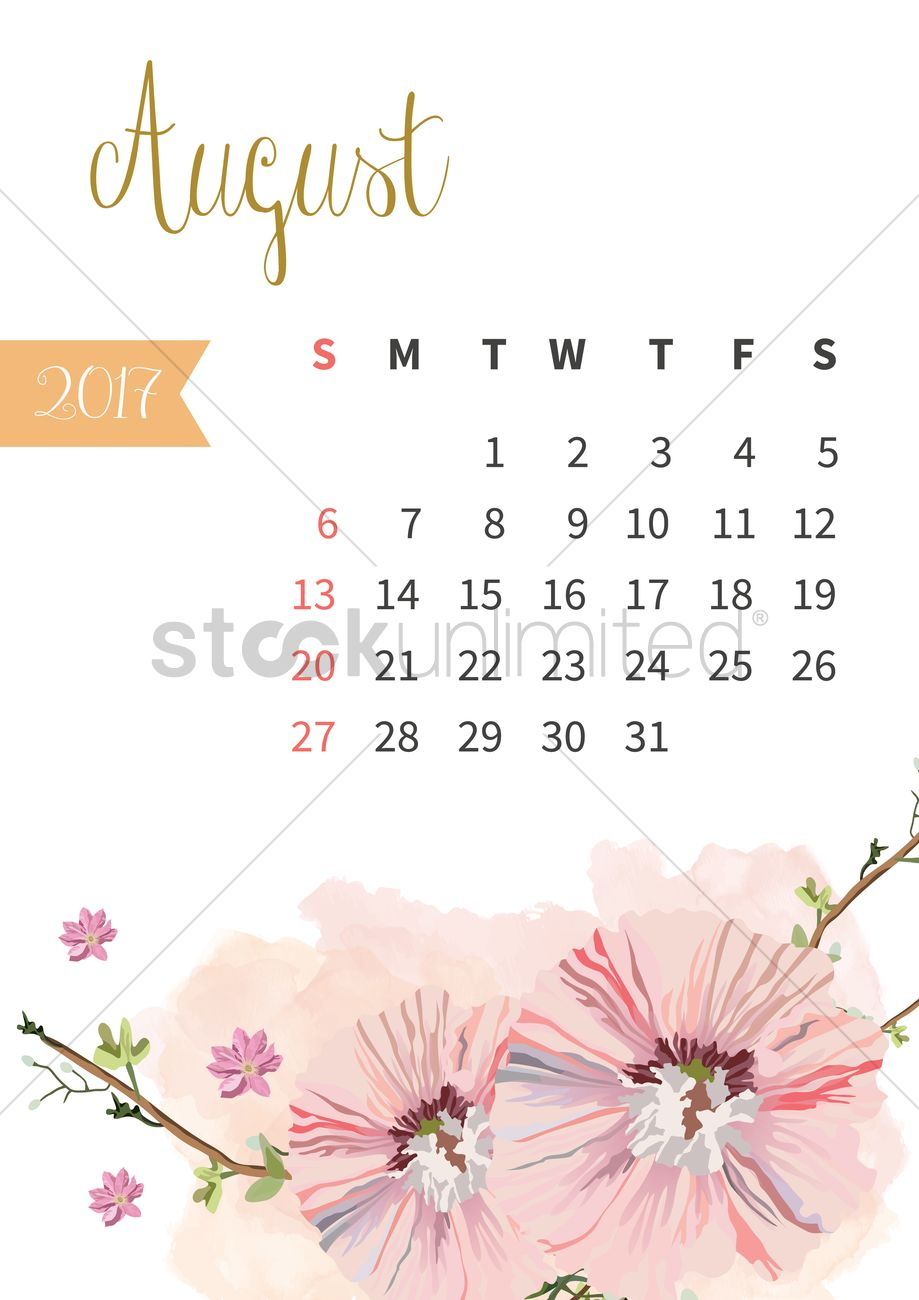 brightness colorful calendar 2017 ~ Objects ~ Creative …