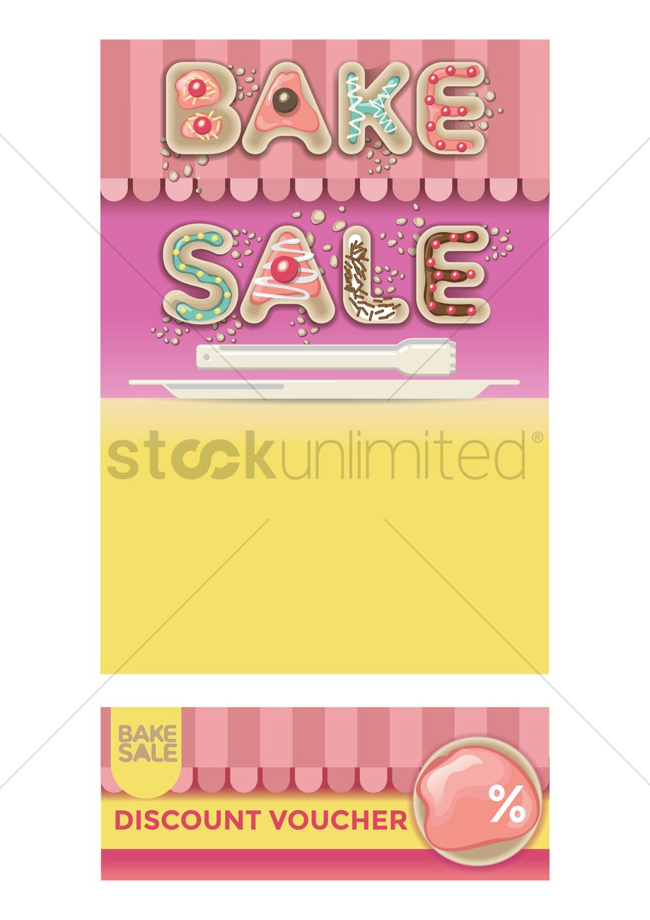 bake poster design vector image stockunlimited bake poster design vector graphic