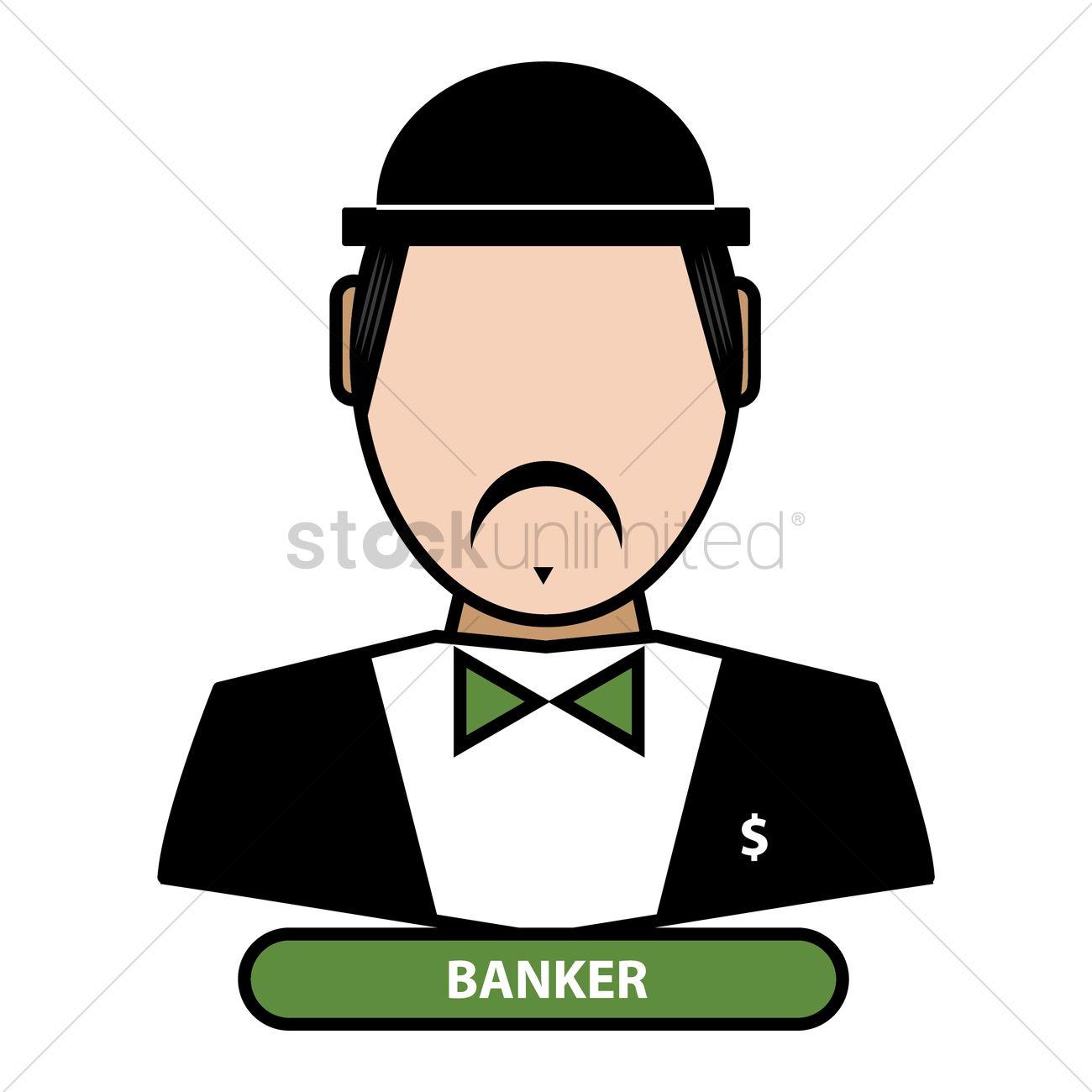 Banker Vector Image - 1625281 | StockUnlimited
